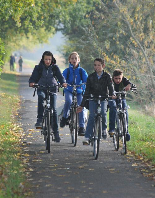 Kids on the cycle network